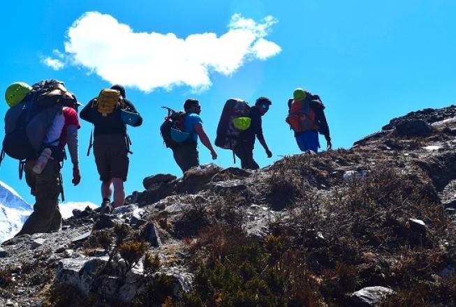 Island Peak climbing & Everest Marathon  2020